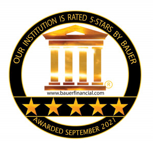 BauerFinancial 5-Star Rating Sept